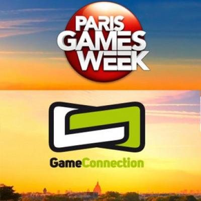 ParisGamesWeek et Games Connection Europe