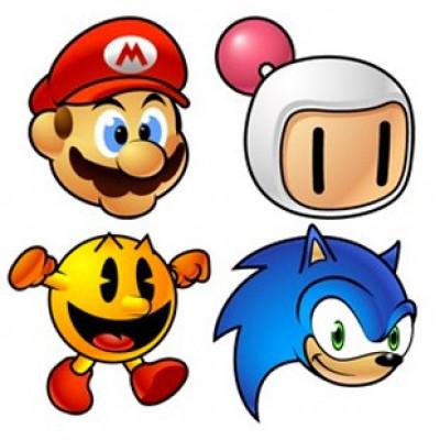 Les héros de jeux vidéos les plus célèbres : Mario, Bomberman, Pac-Man et Sonic