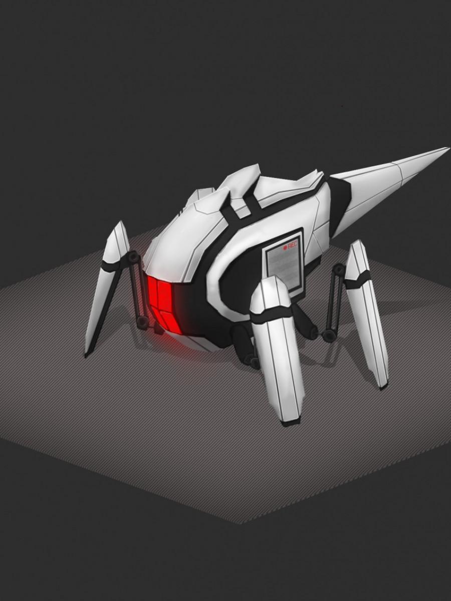 Travaux de modelage 3D