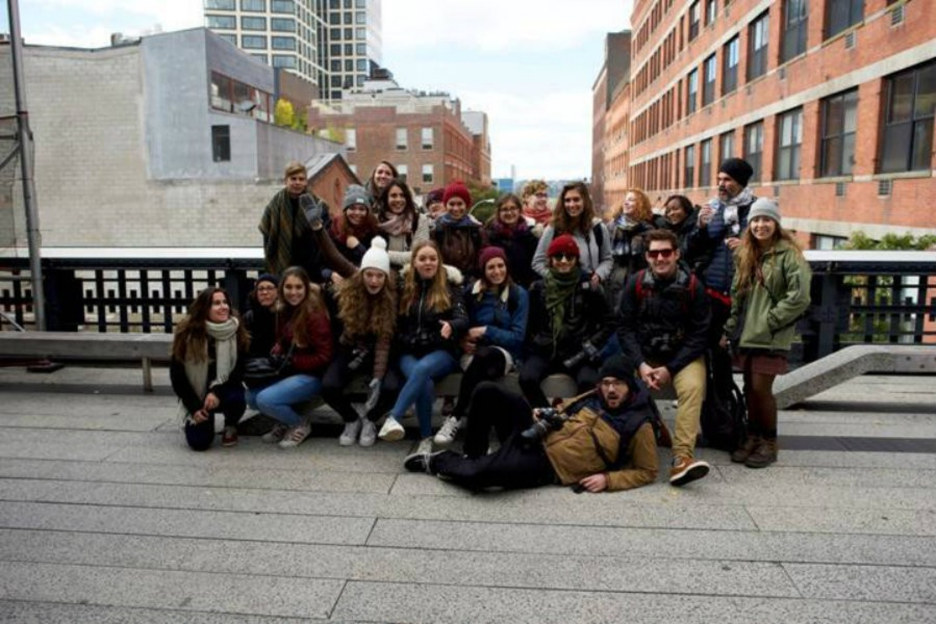 Les étudiants de l'ETPA ont découvert New-York