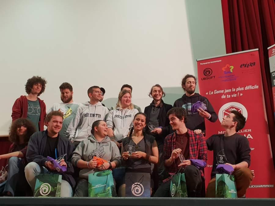 Gacha Ubisoft Montpellier : 3 de nos étudiants sur le podium !